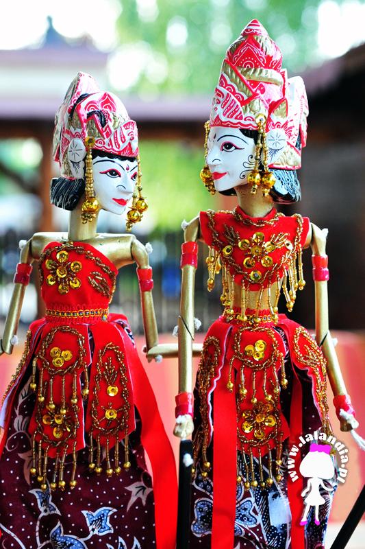Shinta i Rama - wayang golèk